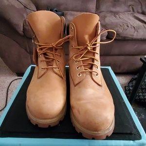 Men's timberland boots wheat nubuck